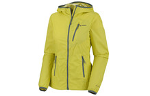 Columbia Women's Trail Fire Windbreaker Jacket chartreuse